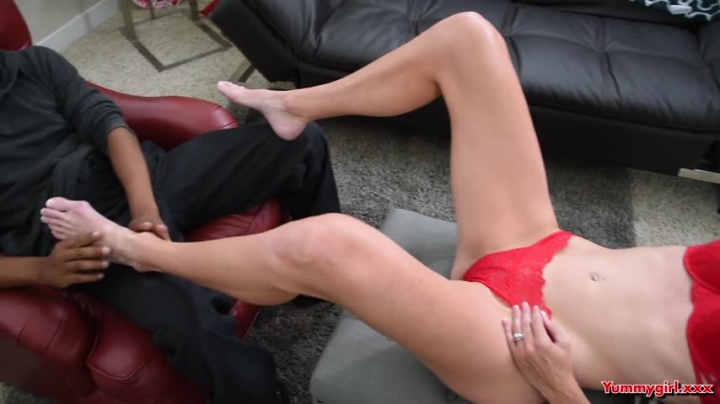 Sofie Marie Bbc Footjob Cum On My Toes