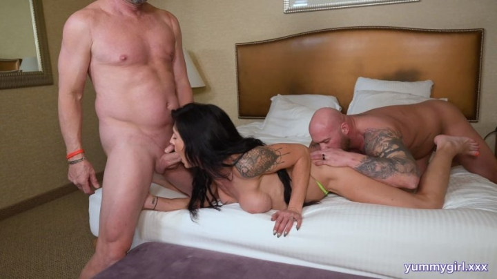 Sofie Marie Real Swingers Couple White Wedding