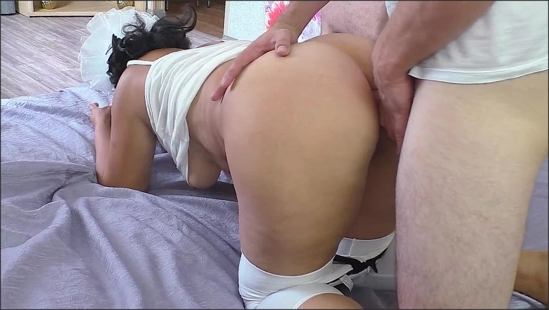 [Full HD] Gave A Blowjob And Got A Cock In The Ass  - Sonia Mixym - -00:06:06 | Big Ass Anal, Amateur Milf - 200,6 MB