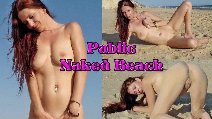 Spaingirl Public Nude On The Beach