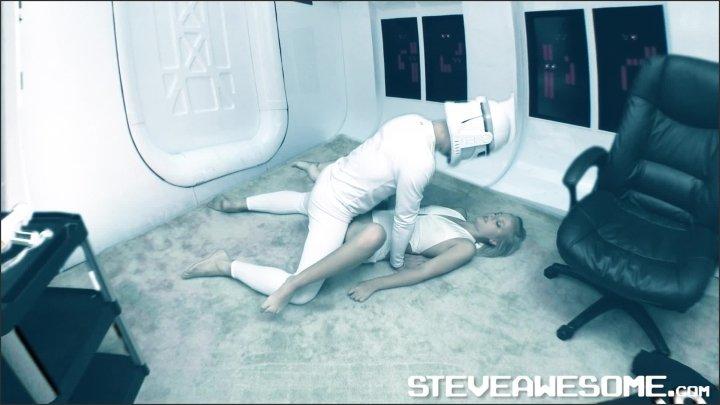 Steve Awesome Jenna Suvari Star Wars Porn Parody