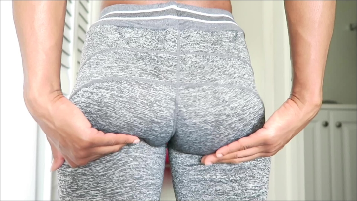 Stormy Weathers Yoga Pants Tease