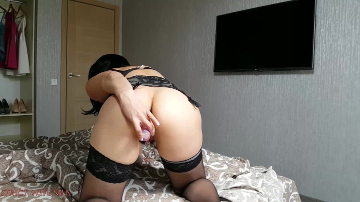 Strict Wife Mia Strict Wife Mia Is Playing With Herself