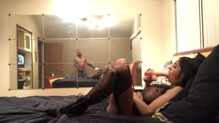 Submissive Whore Fucking Herself While I Jerk Off
