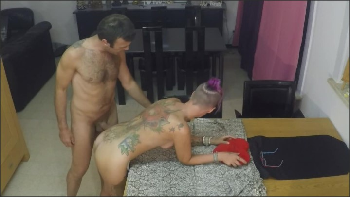 [HD] Huge Dripping Creampie On The Kitchen Table For Dessert - Suicide Squirt - - 00:14:45   Table, Tattooed Women, Milf - 144,1 MB