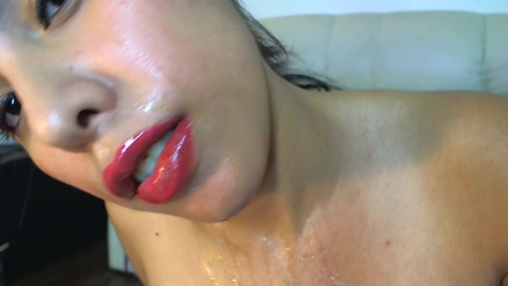 Sweetpam4You Collecting Squirt And Pouring It Over Me