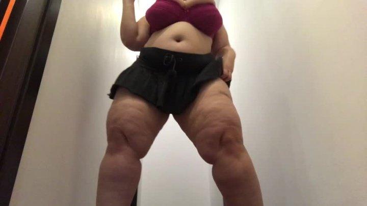 Sweetheartmiabbw Under My Skirt