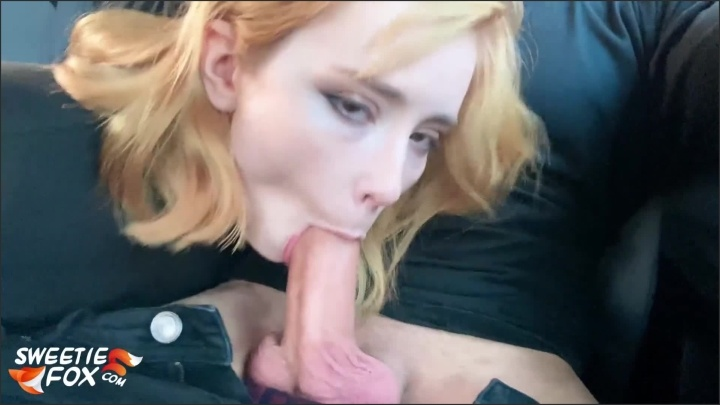 [Full HD] Babe Blowjob Cock And Cum In Mouth In Car Instead Of Paying For The Fare - Sweetie_Fox - - 00:12:51 | Babe, Red Head - 345,8 MB