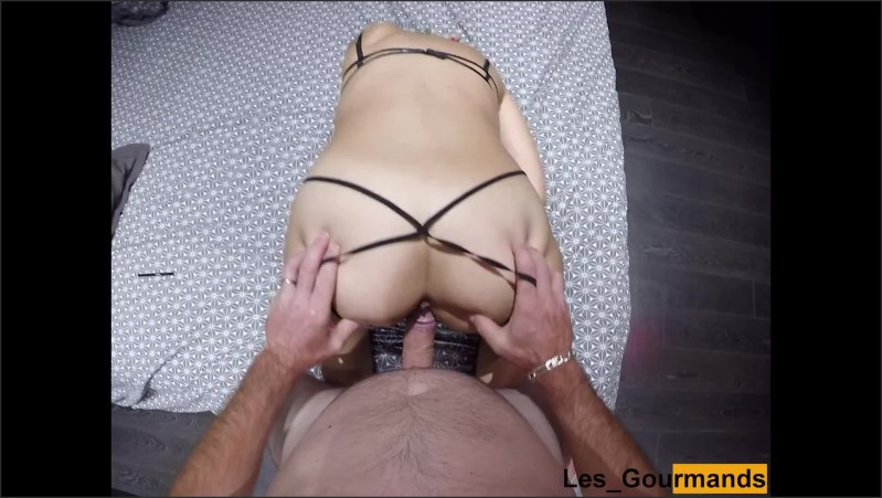 [Full HD] Blonde Milf With Very Sexy Underwear Gets Doggystyle And Cum On Her Big Ass  - Sylvie_David - -00:09:04   Amateur Blowjob, Amateur Doggystyle - 246,5 MB