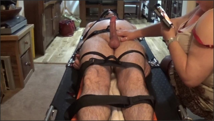 [HD] Cock Torture On Strapped Down And Gagged Man Part 1 Of 3 - TOPofthePOT - - 00:20:04 | British, Edging Edged - 198,7 MB