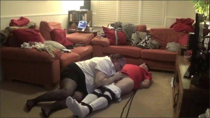 [Full HD] Footballer Bound Gagged Hogtied Tickled With Handjob By Femdom - TOPofthePOT - - 00:19:44 | Bdsm, Socks - 269,1 MB
