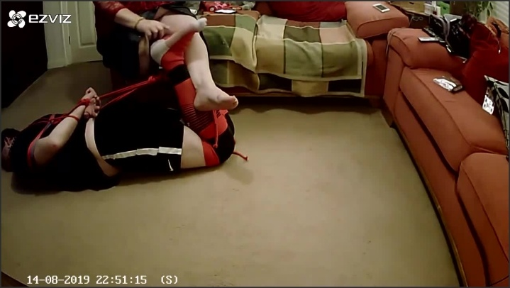 [HD] Footballer Has Feet Tickled By Woman Whilst Tightly Hogtied And Gagged - TOPofthePOT - - 00:20:24   Femdom, Bound Gagged, Exclusive - 158,5 MB