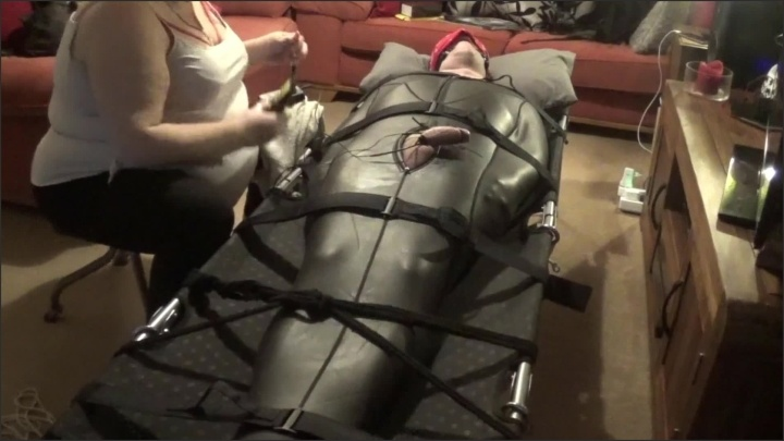 [Full HD] Polished And Edging Torture In Neoprene Body Suit Part 2 Of 3 - TOPofthePOT - - 00:30:55 | Verified Couples, Femdom - 462,2 MB