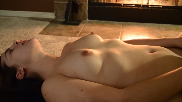 Tawney Oral And Creampie By The Fire