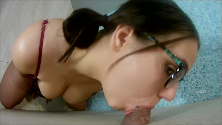 Amateur Big Dick Gloryhole For Nerdy Teen