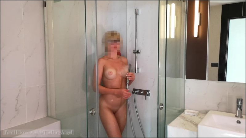 [Full HD] I Like To Cum When I Take A Shower  - TheDirtyAngel - -00:06:08 | Hot Milf Masturbates, Mother - 291,5 MB