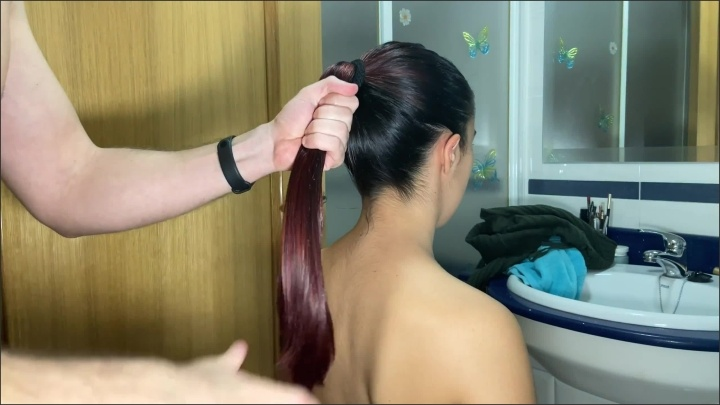 [WQHD] Hard Doggie Fuck With Oiled Ponytail Pulling Cum On Her Hair - TheMacedonia - - 00:10:14 | Teenager, Cum Her Hair, Female Orgasm - 326,3 MB