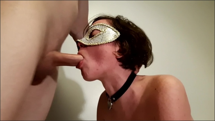 [Full HD] Teen In Collar Gets Rough Sloppy Facefuck And Pussy Pounding Lying On Bed - TheMaskedCat - - 00:09:13 | Facefuck, Amateur, Teenager - 346,1 MB