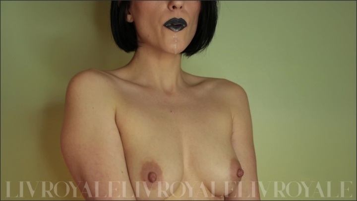 [Full HD] Blowing Saliva Bubbles Spitting On My Small Perky Tits Black Lipstick - TheRealLivRoyale - - 00:07:37 | All Natural, Solo Female - 158,2 MB