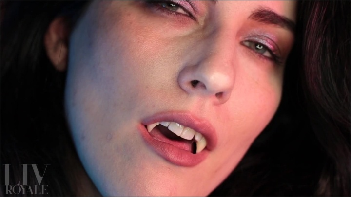 [Full HD] Dark Goddess Devours You Vore Vampire - TheRealLivRoyale - - 00:11:42 | Throat Fetish, Tongue, Vampire - 208,5 MB