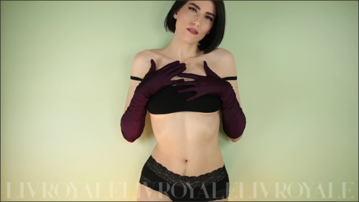 [Full HD] Sensual Striptease In Long Gloves Hairy Pussy Armpits Ass - TheRealLivRoyale - - 00:11:53 | Small Tits, Long Gloves - 321,3 MB