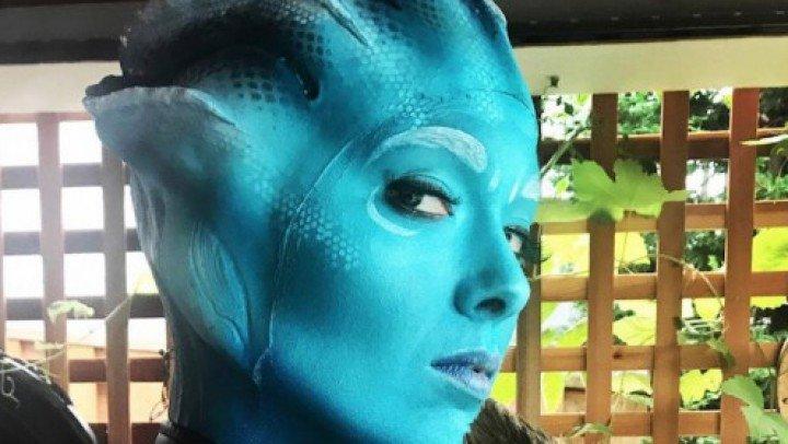 Tigger Rosey Asari Cosplay Mass Effect Show