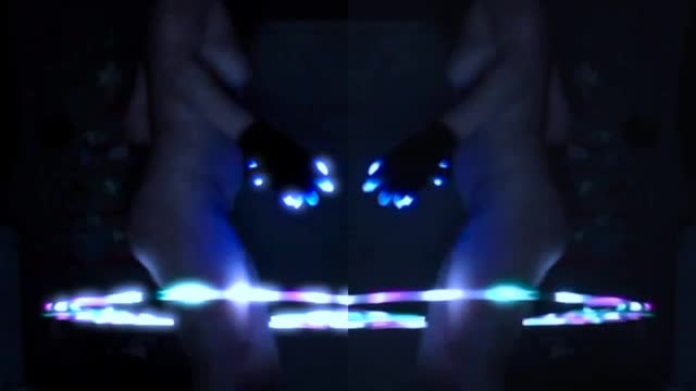 Tigger Rosey Stripping Light Show