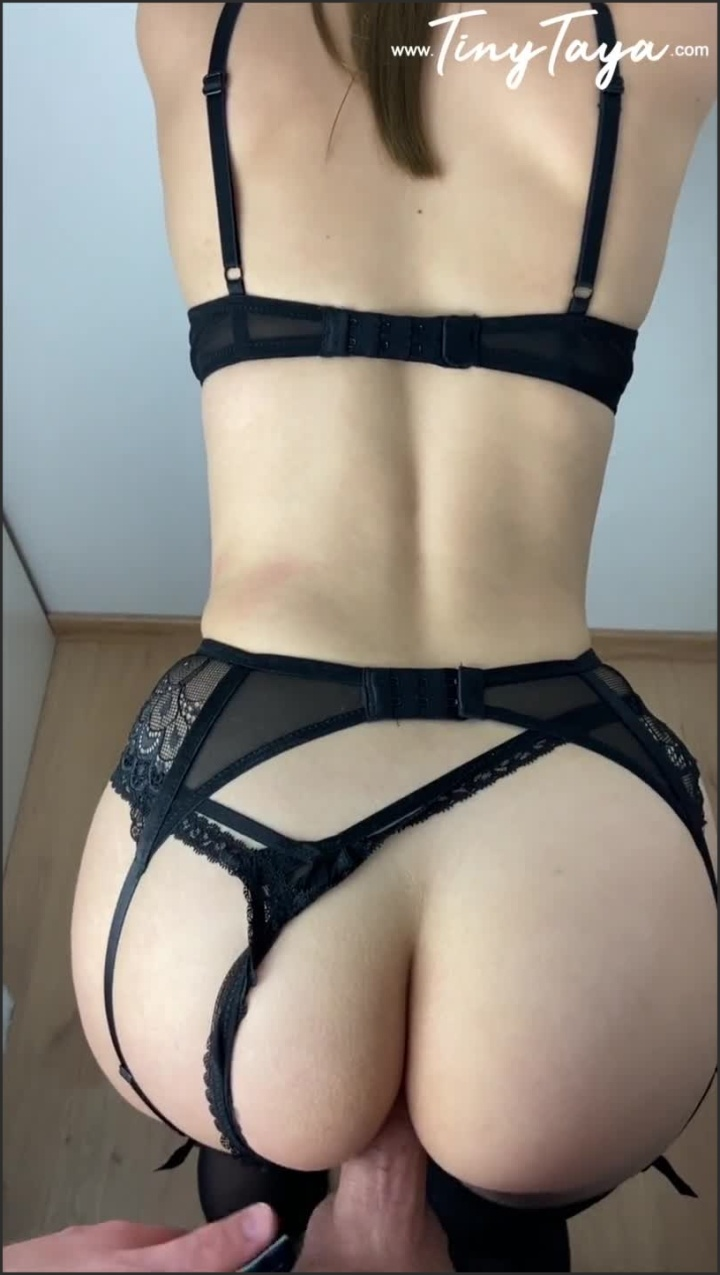 [SD] Hot Nympho Teen Surprised Him With New Lingerie Doggy Pov - TinyTaya - - 00:07:38   Amateur, Young Teen - 124,9 MB
