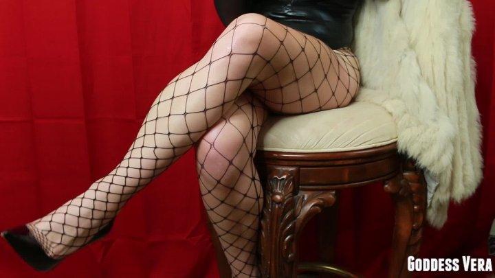 Vera Price Xxx Fishnets And Stilettos Leg Worship