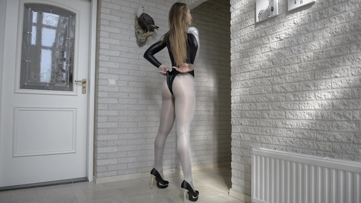 Veronagymnast Grey Pantyhose Video Veronagymnast