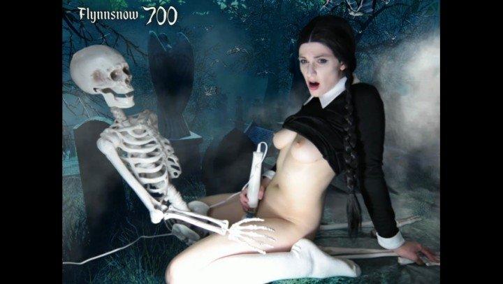 Veronica Chaos Wednesday Addams Cosplay Cam Show