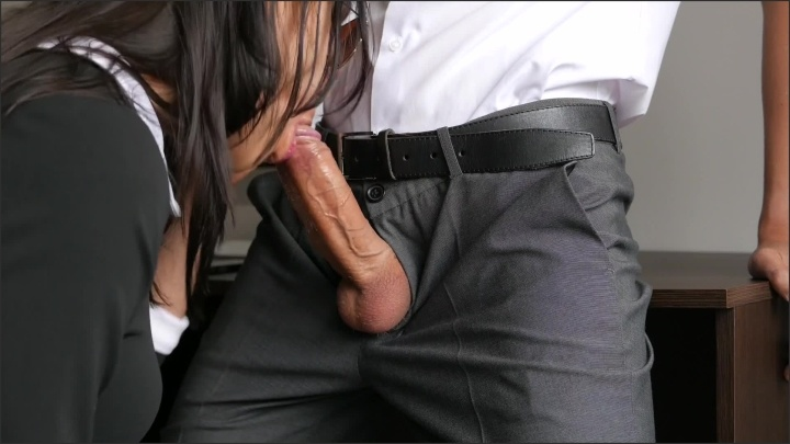 Horny Young Secretary Fucks In Anal Pussy Amp Mouth With Her Office Boss