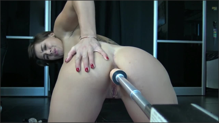 Teen Love Anal With Fuck Machine Atm Wet Ass And Squirt By Vic Alouqua