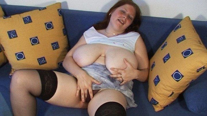 Vidzflix Bbw Girl Plays With Her Monster Boobs