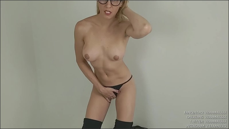 [Full HD] Hot Nerd From Sch--L Tapes You Up And Gives You A Blowjob  - VieraMayXXX - -00:12:57 | Virtual Sex, Pov, Babe - 227,3 MB