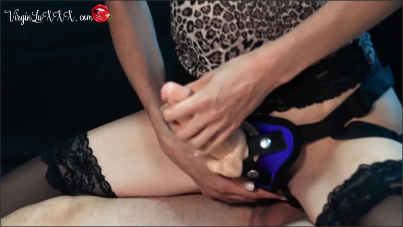 [Full HD] Passionate Strapon Minx Riding Big Dick To Powerful Orgasm  - VirginLux - -00:07:23 | Teen, Cowgirl, Orgasm - 177,9 MB