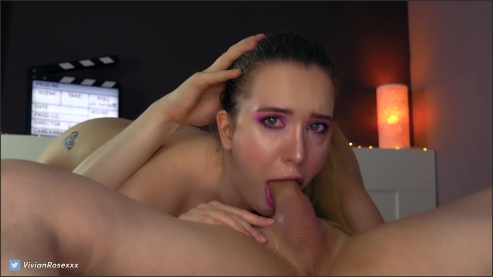 [Full HD] Rough Sloppy Facefuck Blowjob In 69 Pose With Pulsating Cumshot - Vivian_Rose - - 00:11:24 | Exclusive, Young Couple - 189,7 MB