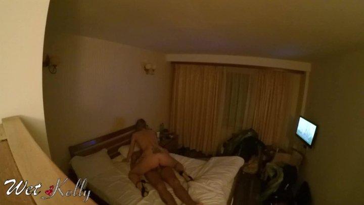 Wet Kelly Hidden Camera Spy Sex In Hotel Room