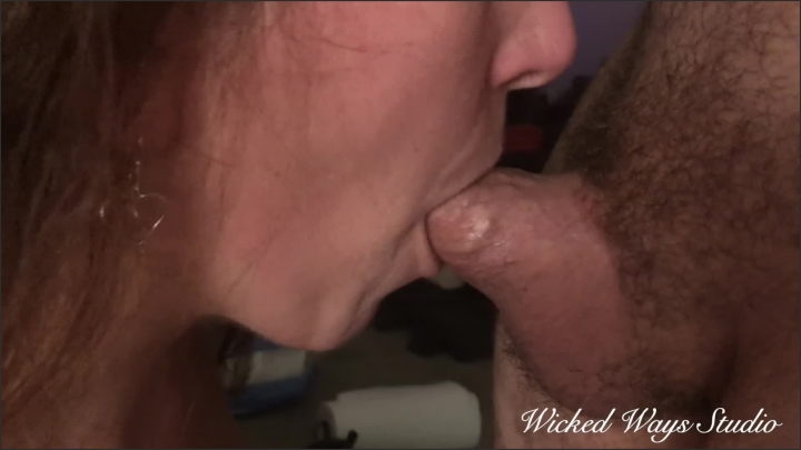 Wicked Fellow Milf Katja Sucks My Cock And Takes All My Cum In Her Mouth