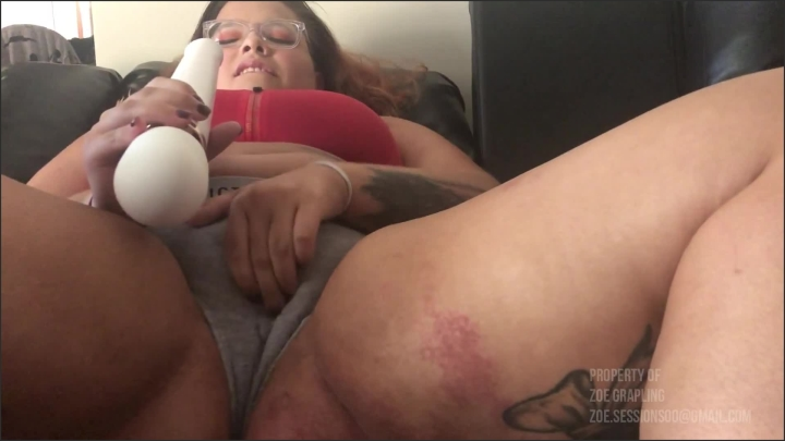 [Full HD] Wet Cotton Panties - Zoe Grappling - - 00:06:04 | Butt, Tattooed Women - 155,7 MB