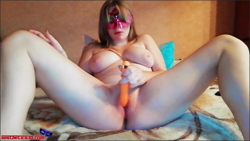 [Full HD] Busty Babe Masturbate Pussy Vibrator And Orgasm - Aesthetics30 - -00:06:59 | Exclusive, Adult Toys - 130,4 MB