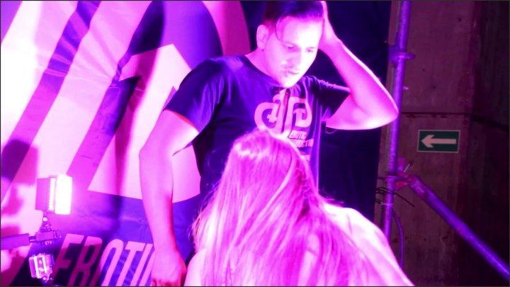 Aixmen Paris Beautifull Show Of Clea Gaultier At Madrid