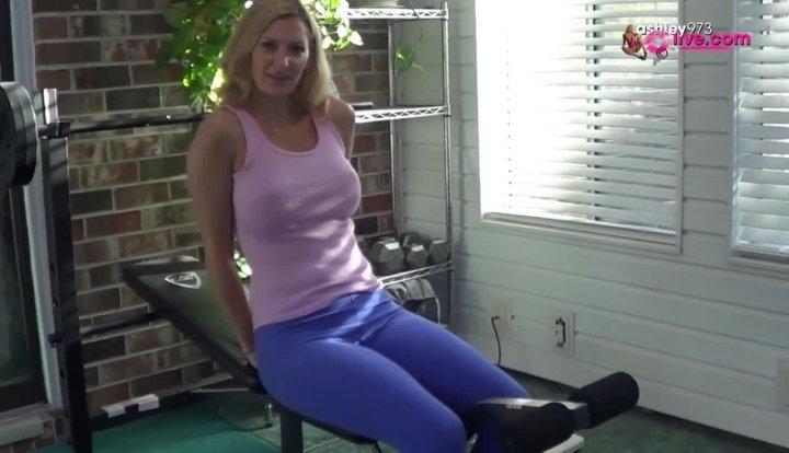 Ashleymason973 Workout Creampie 2