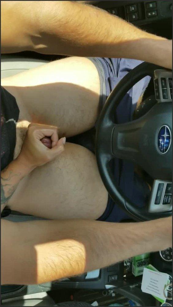 [SD] Oiled Cum Denial Edging Handjob While Driving  - Awokendesires - -00:12:06 | Massive Load, Pov, Handjob - 208,4 MB