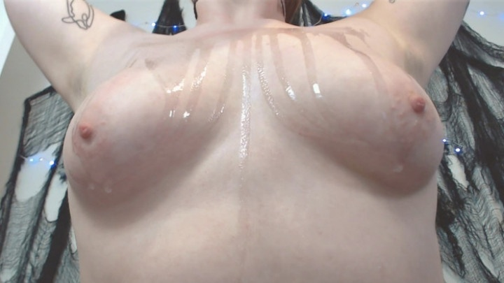 Baby Peach Baby Oil Titties