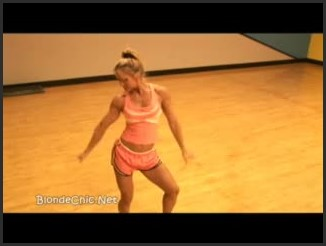 [LQ] Amy Bates Flexing - Blondchic - - 00:06:06   Fitness, Blonde - 13,9 MB