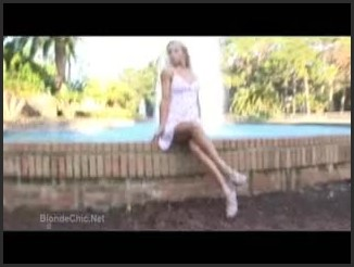 [LQ] Fountain Photo Shoot - Blondchic - - 00:06:39   Ladies, Her - 19,6 MB