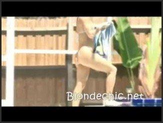 [LQ] Georgia Luv Poolside In Sexy White Thong Bikini - Blondchic - - 00:13:23 | Bodybuilders, Posing, Naked Girls - 40,9 MB