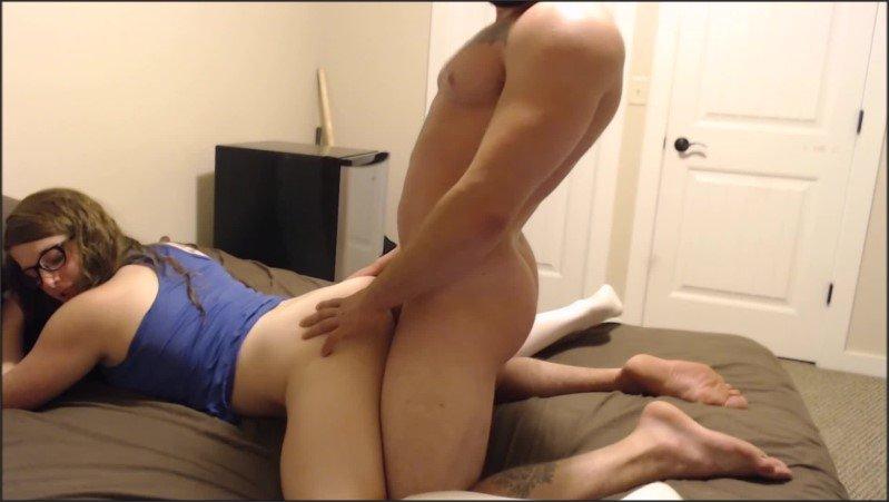 [Full HD] Cute Teen Brunette Sucks And Rides Cock  - Chunucka - -00:10:12   Exclusive, Teen Blowjob - 298,2 MB