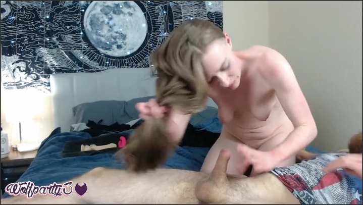 [HD] Dahliaxwolf Hairjob Messy Cumload - Dahliaxwolf -  - 00:10:49 | Hd Porn, Verified Amateurs - 130 MB